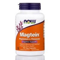 Magtein L treonato de magnésio 90 Veg Capsules NOW Foods