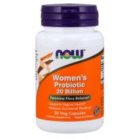 Women s Probiotic probiotico para mulheres 20 Billion 50 Veg Capsules NOW Foods