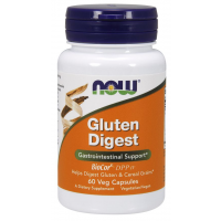 Gluten Digest 60 Veg Capsules NOW Foods