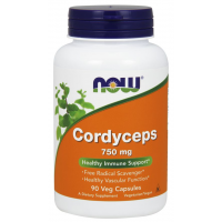 Cordyceps 750 mg 90 Veg Capsules NOW Foods