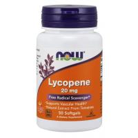 Lycopene 20 mg 50 Softgels NOW Foods