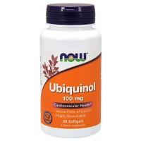 Ubiquinol 100 mg   60 Softgels Now