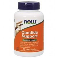 Candida Support 90 Vegcaps NOW Foods