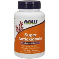 Super Antioxidants 120  Veg Capsules NOW