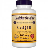 CoQ10 100mg 60 softgels HEALTHY Origins