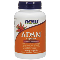 ADAM Men s Multiple Vitamin multivitaminico para homens Veg 90 Capsules NOW Foods