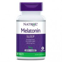 Melatonina 5mg 60 tablets NATROL vencimento 12/2021