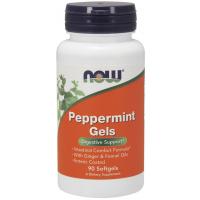 Peppermint Gels hortelã 90 Softgels NOW Foods