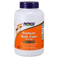Psyllium Husk 700mg 180 Veg Caps NOW Foods