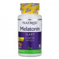 Melatonina 3mg FD sublingual 90tablets NATROL vencimento 10/2021