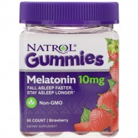 Melatonina gummies 10 mg 90 count strawberry NATROL