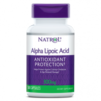 Alpha Lipoic Acid Acido alfa lipoico 300mg 50 caps NATROL