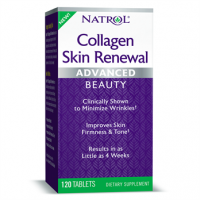 Collagen Skin Renewal Advanced Colageno com verisol 120 tablets NATROL