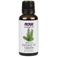 Óleo essencial Balsam fir Needle Bálsamo 1oz 30ml NOW Foods