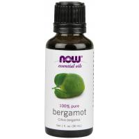 Óleo essencial de Bergamot bergamota 1oz 30ml NOW Foods