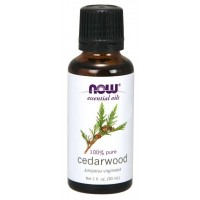 Óleo essencial de Cedarwood cedro 1oz 30ml NOW Foods