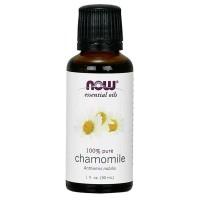 Oleo essencial de Chamomile Camomila 1oz 30ml NOW Foods