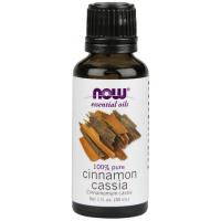 Óleo essencial de canela cassia Cinnamon Cassia  1oz 30ml NOW Foods