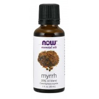 Óleo essencial blend Myrrh mirra 20% 1oz 30ml NOW Foods