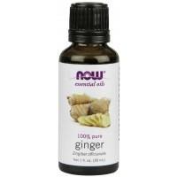 Óleo essencial de gengibre Ginger 1oz 30ml NOW Foods