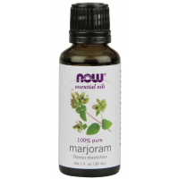Óleo essencial de Marjoram Manjerona 1oz 30ml NOW Foods