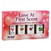 Kit de Óleos Essenciais Love at First Scent  40ml NOW Foods