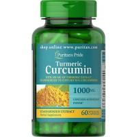 Turmeric Curcumin with Bioperine 1000 mg 60 capsules PURITANS Pride