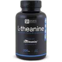 L Theanine Suntheanine 200mg 60 softgel SPORTS Research