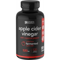 Apple Cider Vinegar 520mg 120 veggie caps SPORTS Research