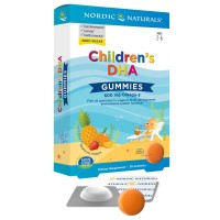 Children's DHA Gummies 600mg omega 3 NORDIC NATURALS