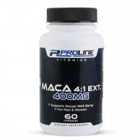 Maca 4:1 EXT 400 mg 60 Capsulas PLV Proline Vitamins